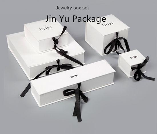Creative Design Custom Ribbon Gift Paper Jewelry Packaging Box