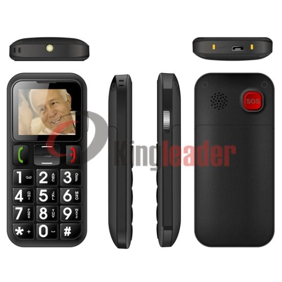 Quad-Band GSM Senior Cell Phone with Ce (W60) pictures & photos