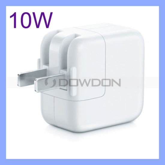 10W USB Power Adapter for iPad/ iPhone Wall Charger