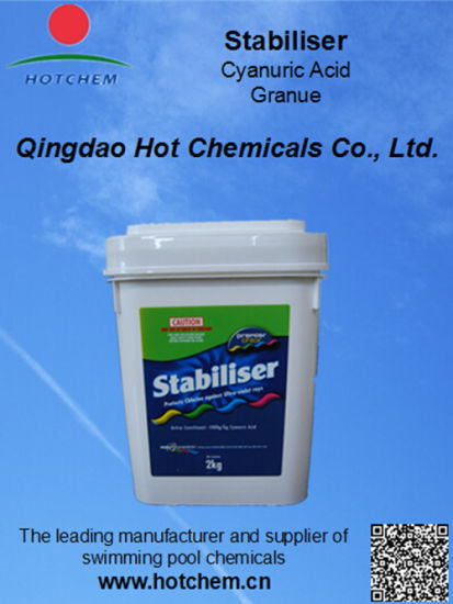 China Hs Code 2933699090 Stabilizer For Swimming Pool