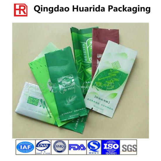 Food Grade Stand up Ziplock Tea/Coffee Plastic Packaging Bags pictures & photos