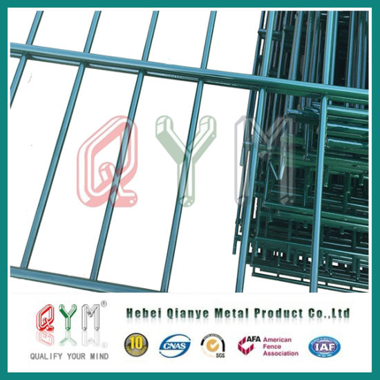 China Decorative Double Loop Wire Fence/Double Roll Top Welded Fence ...
