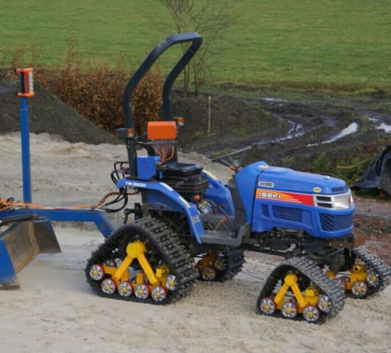 Tractor Track System : China tractor rubber track conversion system