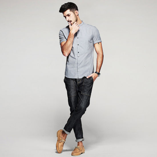 cc2cea219 The Wholesale Mens Dress Shirts Models with Mens Casual Shirts Men Wash and  Wear pictures