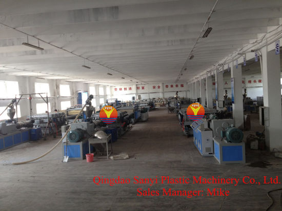 PVC Templete Foam Board Extrusion Machine with Professional Service pictures & photos