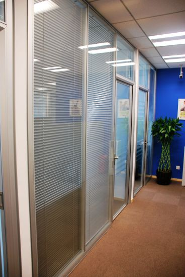 Demountable Office Glass Partition Walls pictures & photos