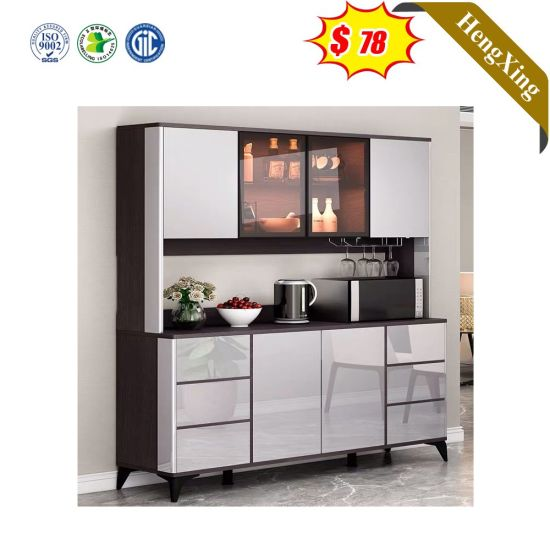 Modern Buffet Large Size 4 Door Dining, What Size Sideboard For Dining Room
