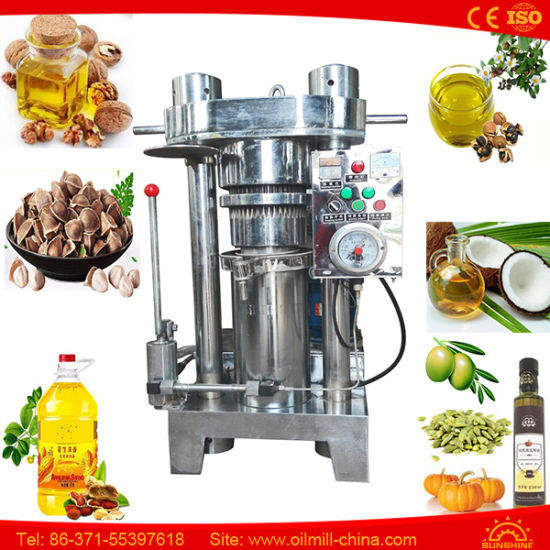 Camellia Tea Seed Pumplin Moringa Walnut Peanut Oil Pressing Machine pictures & photos