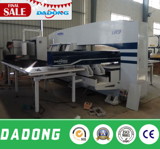 ED200 CNC Double Servo Turret Punching Machine/Stamping Machine pictures & photos