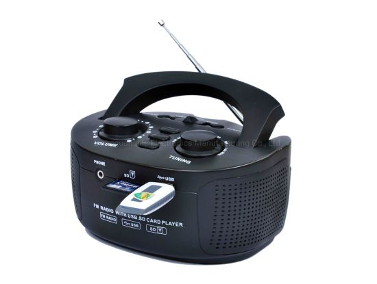 FM Radio with USB/SD Card Music Player pictures & photos