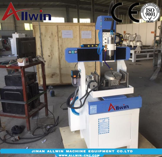cnc 5 axis desktop machine 400400mm small size 5 axis cnc router