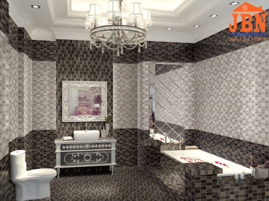 China Hot Sale Digital Glazed Bathroom Wall Ceramic Tiles 3 B45828