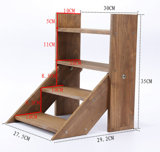 China Wooden Shelf Rack Wood