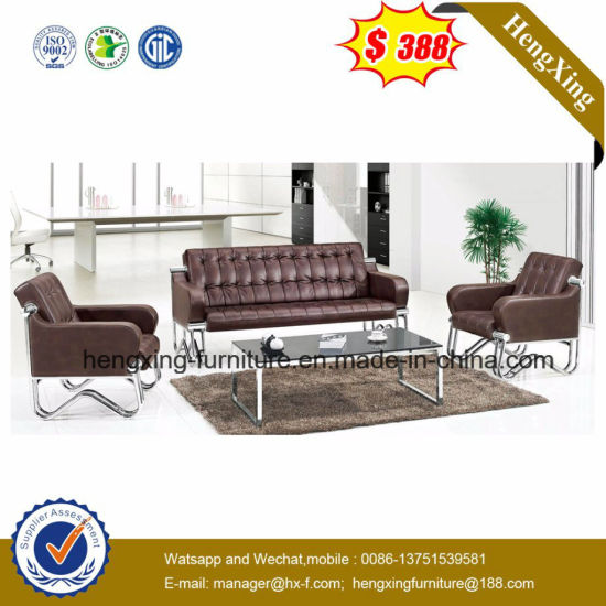 Modern Sofa Furniture Office Sectional Genuine Leather Sofa (HX-CS072) pictures & photos