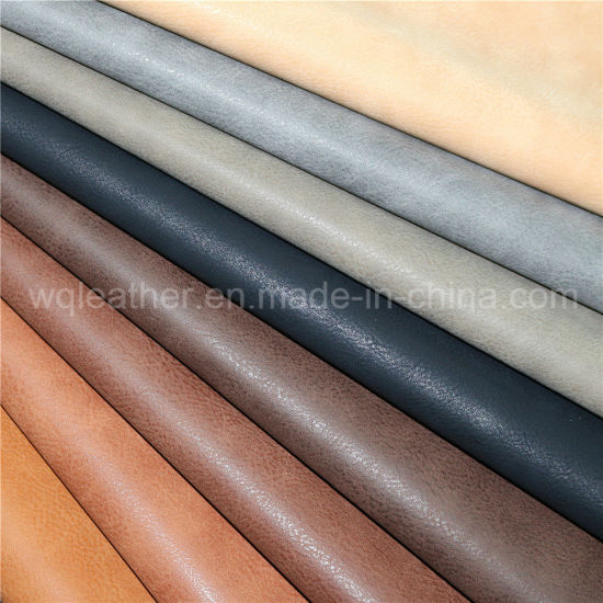 3207-High Quality Synthetic Fabrics Faux PU Leather with Competitive Price pictures & photos