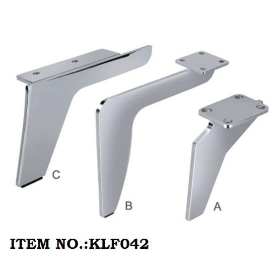 Chrome Metal Furniture Sofa Base Table Bed Leg L115*H140mm L190*H160mm L200*H130mm