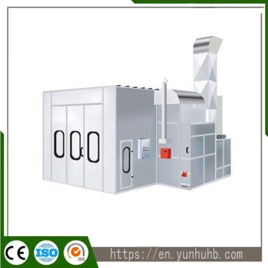 Ce Standard Fully Automatic Integration Paint Booth for Automotive 4s Shops