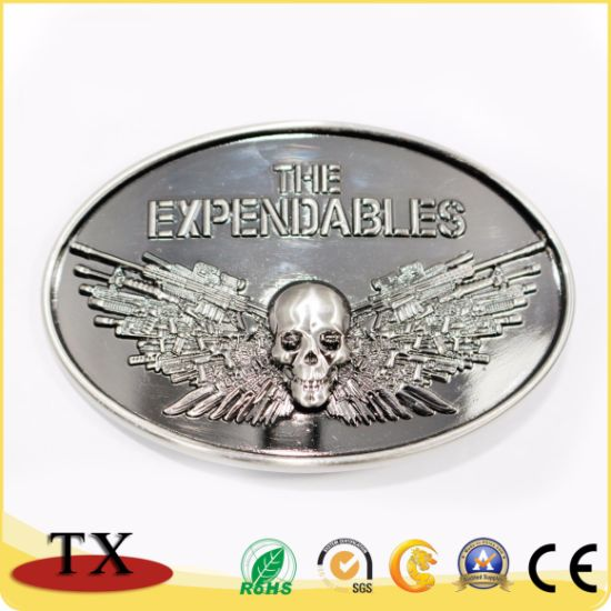 Antique and Customized Metal Belt Buckle for Promotion Gift