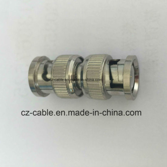 Crimping Cable Connector, Double BNC Male pictures & photos