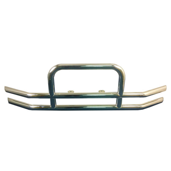 Hot Sale Stainless Steel Truck Grille Guard Bumper with Light
