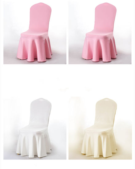 Pleasant Elegant Wholesale Skirt Cheap Spandex Chair Covers Caraccident5 Cool Chair Designs And Ideas Caraccident5Info