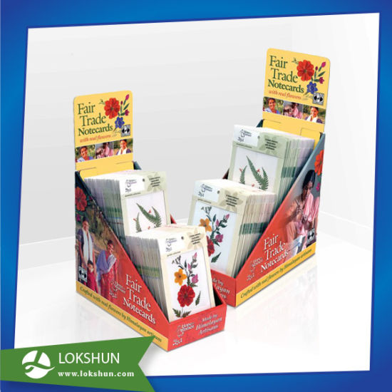 Cardboard Table/PDQ Carton Display /Cardboard Counter Top Display pictures & photos