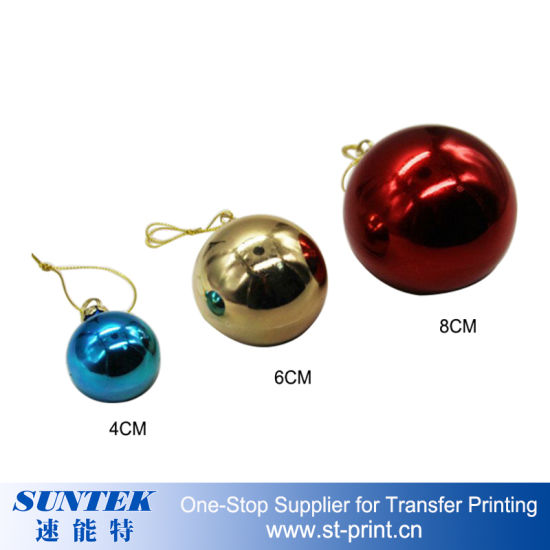 image relating to Printable Christmas Ornaments identify Sublimation Printable Xmas Ornaments Spherical Plastic Xmas Ball