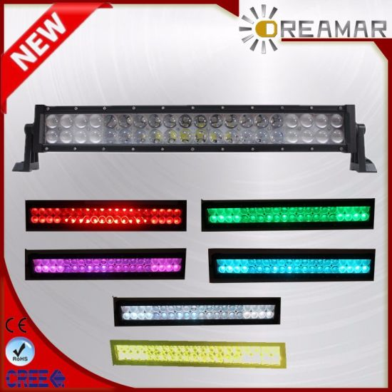 21.5'' 120W RGB 5D LED Car Light Bar with APP Control