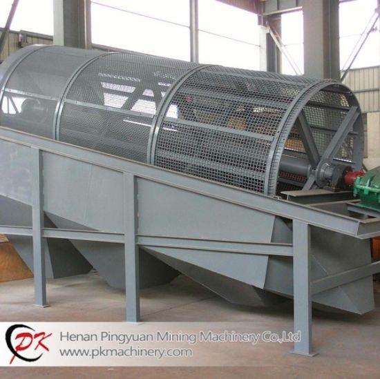 China Drum Sieve Trommel Mining Machine Vibrating Screen