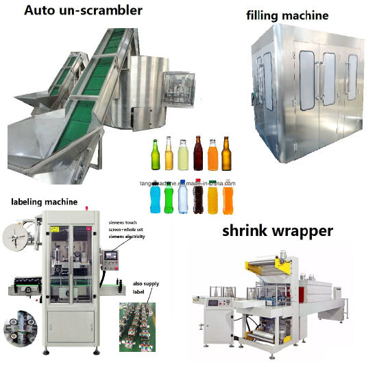 Automatic Plastic PP PE Pet Bottle Unscrambler Unscrambling Machine pictures & photos