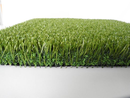 Non Infill Synthetic Grass for Soccer Fields, Football Grass (V30-R) pictures & photos
