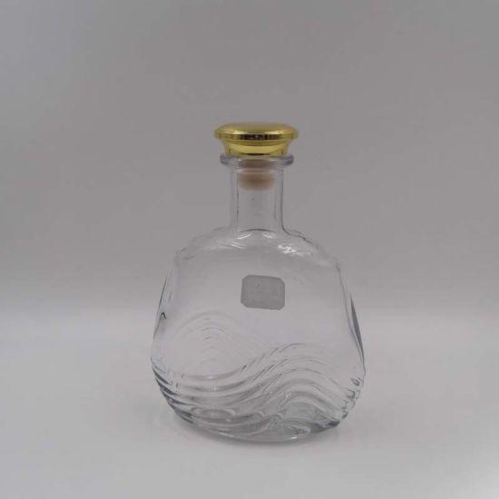 0.5L Cork Mouth Brandy/Cognac Bottles Unique Whiskey Decanters