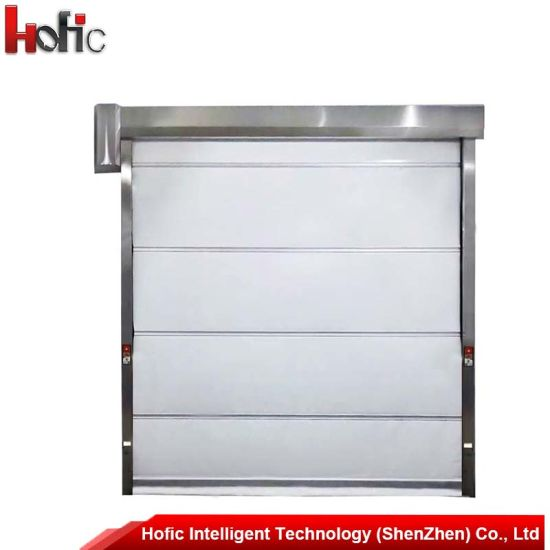 China Roller Shutter High Speed Roll up with Stainless Steel Frame ...