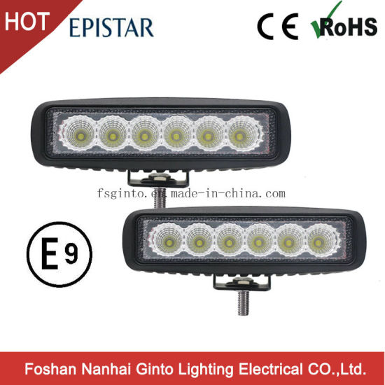 China low cost 18w offroad epistar led work light bar gt1012 18w low cost 18w offroad epistar led work light bar gt1012 18w aloadofball Image collections