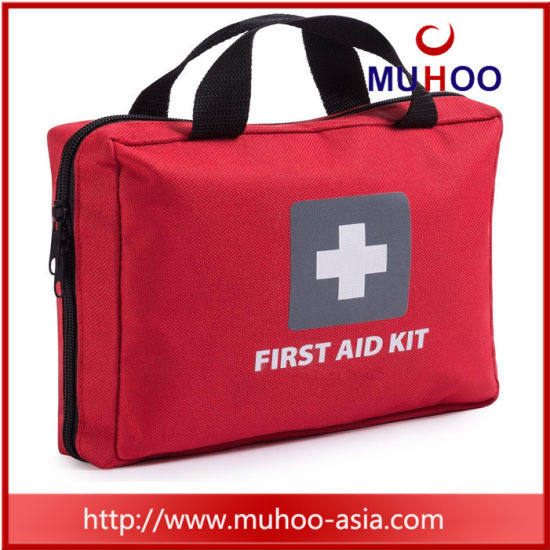 Small First Aid Medical Bag for Hiking, Travel, Home, Car