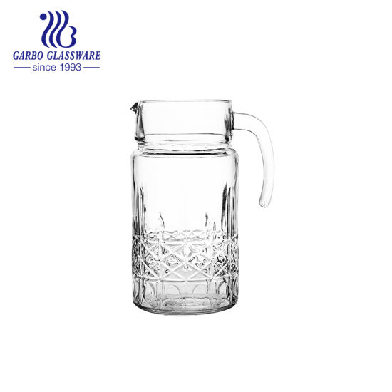 05835a7e733 China Factory New Design 1.8 L Glass Pitcher for Drinking Juice (GB1117HT)  pictures