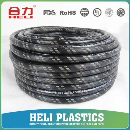 10mm 2ply-5layer PVC High Pressure Spray Hose Wp50bar pictures & photos
