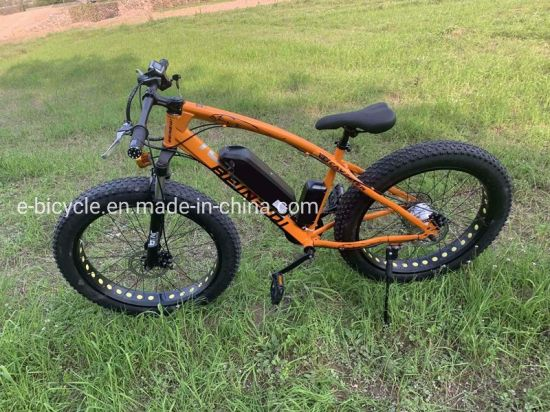 26 Inch Lithium Battery Snow Beach Mountain Electric Bicycle Bike