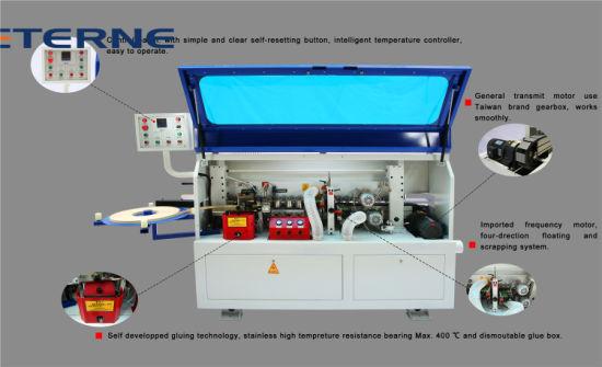 Electric Semi-Auto Economic Carpentry Tape Linear Edge Bander Machine  (ET-60)