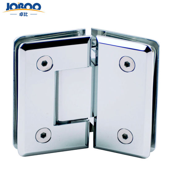Frameless Copper Shower Door 135 Degree Glass Hinge Bathroom Small Hinge For Frameless Shower Screen