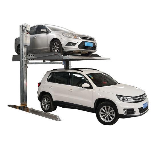 2 Post Home Auto Car Parking Equipment Lift