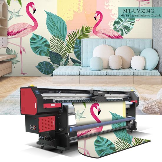 High Definition Sublimation Paper Direct Printing On Textile Printer Mt Tx3204g