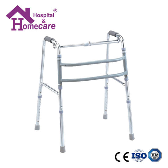 Medical Supplies Walking Aid Aluminum Folding Walker (ME355) pictures & photos