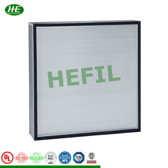 High Efficiency Air Inlet Filter/Second or Third Stage Mini-Pleat Filter pictures & photos