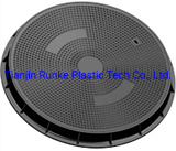 High Quality SMC Watertight Manhole Cover Composite Waterproof Manhole Cover and Frame FRP Round Manhole Cover BS En124