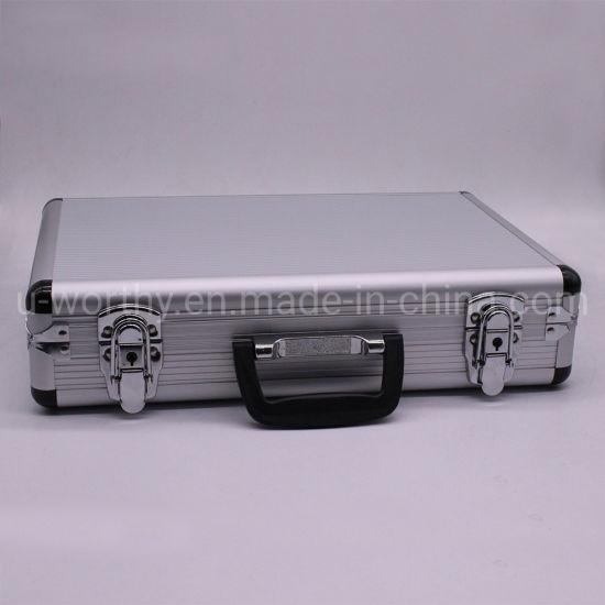 2018 New Design Aluminum Document Brief Case Suitcase