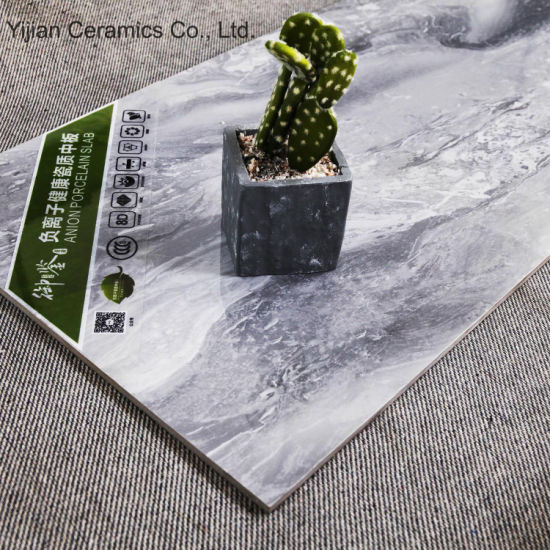 6D Inkjet Printing Marble Design 7.5mm Thickness Glazed Ceramic Wall Tile (3-YU408018)
