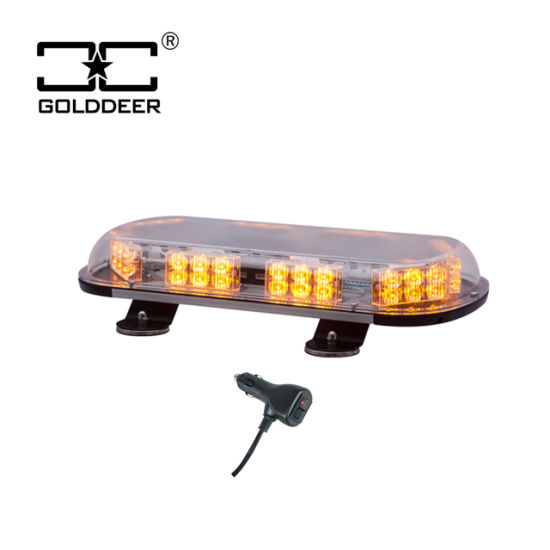 ECE R65 Security LED Strobe Mini Amber Warning Lightbar for Truck pictures & photos