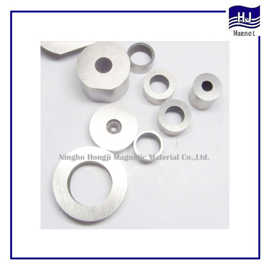 Beautiful Ring Wafer Cylinder Cast AlNiCo Magnet for Industrial