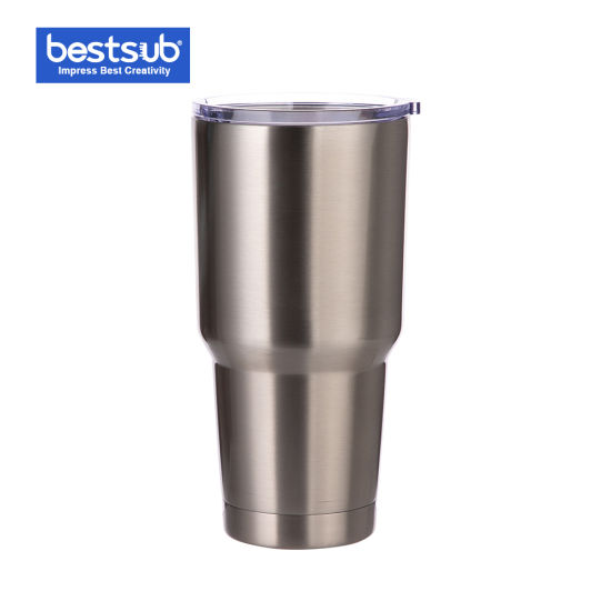 f42085a0f47 Bestsub 30oz Sublimation Bottle Silver Stainless Steel Cup (BYETI30S)